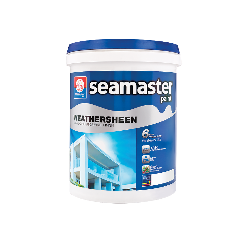 Weathersheen Acrylic Exterior Wall Finish (6years) 8900G